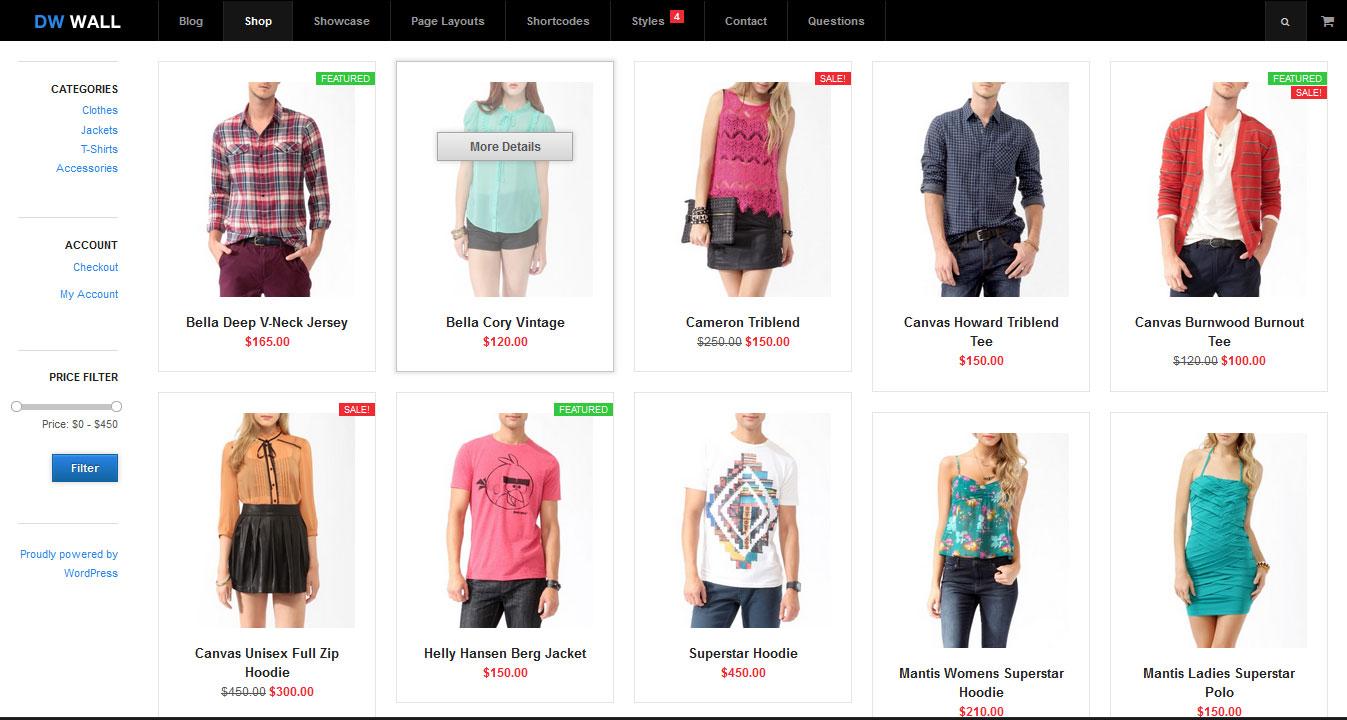 Free Wordpress Shopping Cart | All Design Creative
