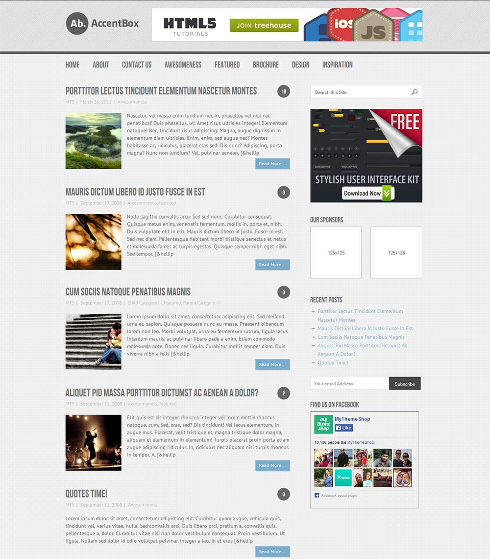 Best Free WordPress Magazine Themes 2015