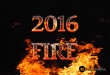 2016 Fire Text PSD Free Download