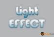 Text Lighting Effect PSD