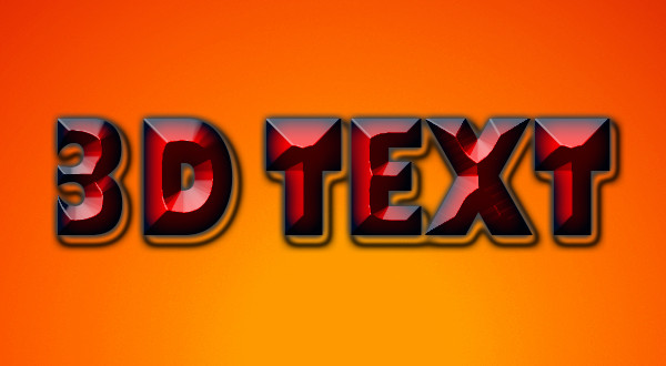 corel draw 3d text effect pdf