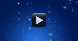 Blue Animated Motion Video Background