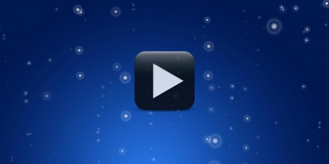 Blue Animated Motion Video Background | All Design Creative