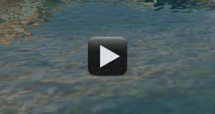 Flowing Water Animation Background - Stock Background Video Loop
