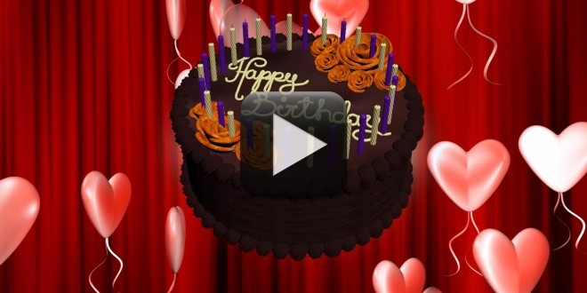 Happy Birthday Animation Video Free Download | All Design Creative
