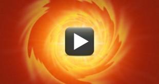 Light Swirl Animation Background Video