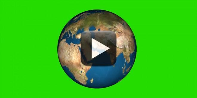 Green Screen Globe Earth Rotation Video Effects | All Design Creative