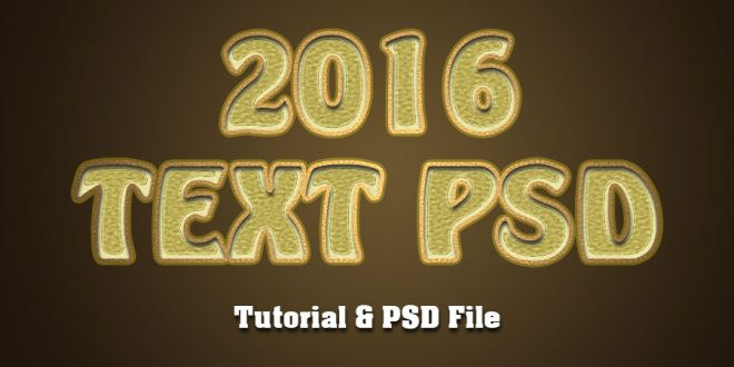 6 Steps-Best Photoshop Text Effect Tutorials
