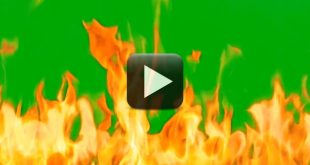 Fire Green Screen Free Download