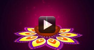 Happy Celebration Deepam Motion video Background