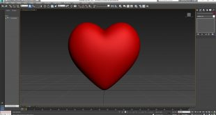 Love Heart 3D Model Free Download