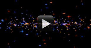 Animated Moving Stars Video Background Effect-Free Download