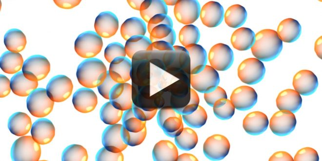 Seamless Moving Bubbles Animated White Background All Design