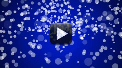 Hd Circles Blue Motion Backgrounds Free Download All