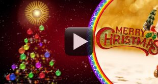 Merry Christmas Greetings Video Free Download