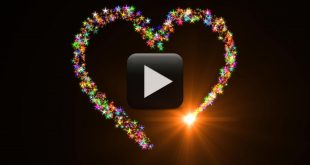 Love Shape HD Animation-Best Heart Particles Effects