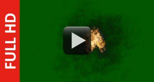 Fire & Smoke Green Screen HD in Free Download