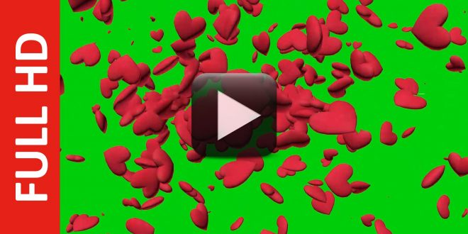 Heart Animation Green Screen Free Download