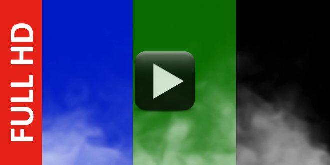 Smoke Explode Blue, Black, Green Screen Effect Video