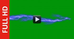 Ultra Lightning Effect Green Screen Free Footage