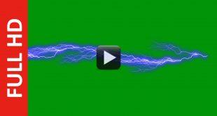 Ultra Lightning Effect Green Screen Free Footage