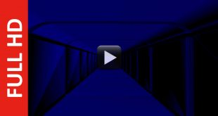 Free Download Dark Blue Hall Background Video Effects HD