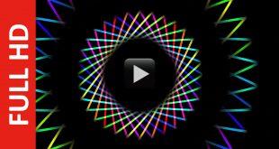 Rainbow and Cyclic Animated Background