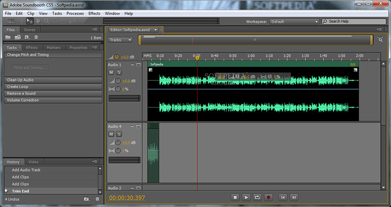 Adobe Soundbooth Tutorial