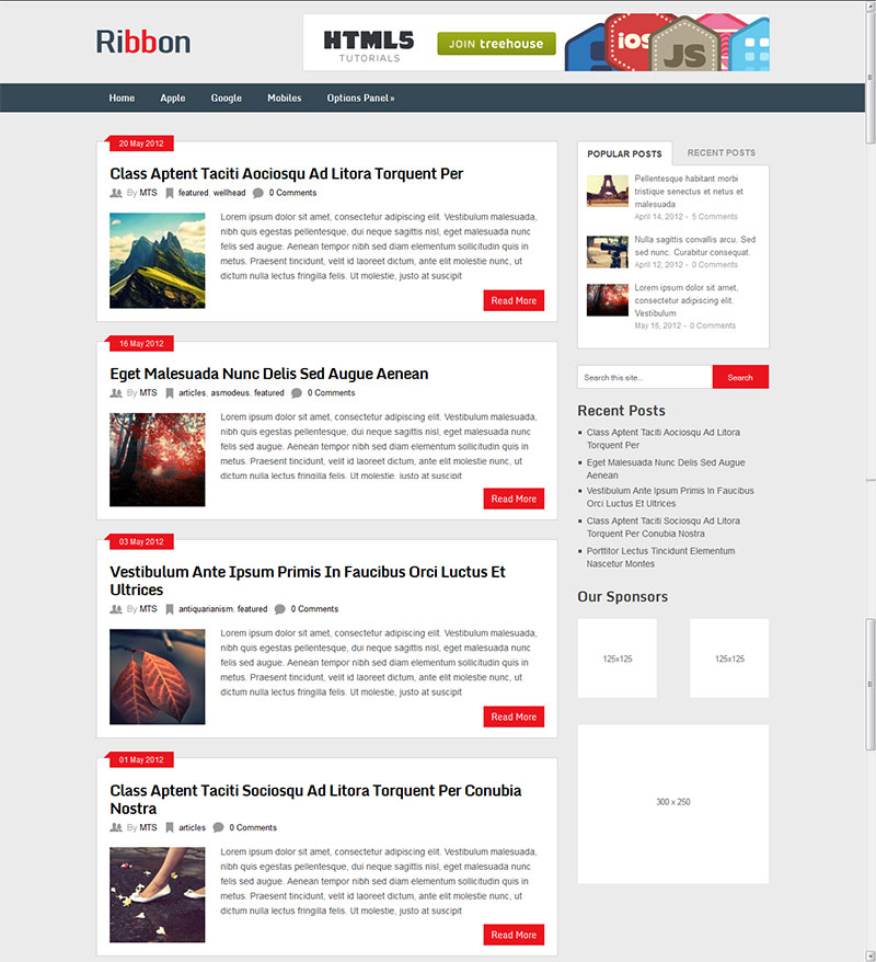 Free WordPress Responsive Themes