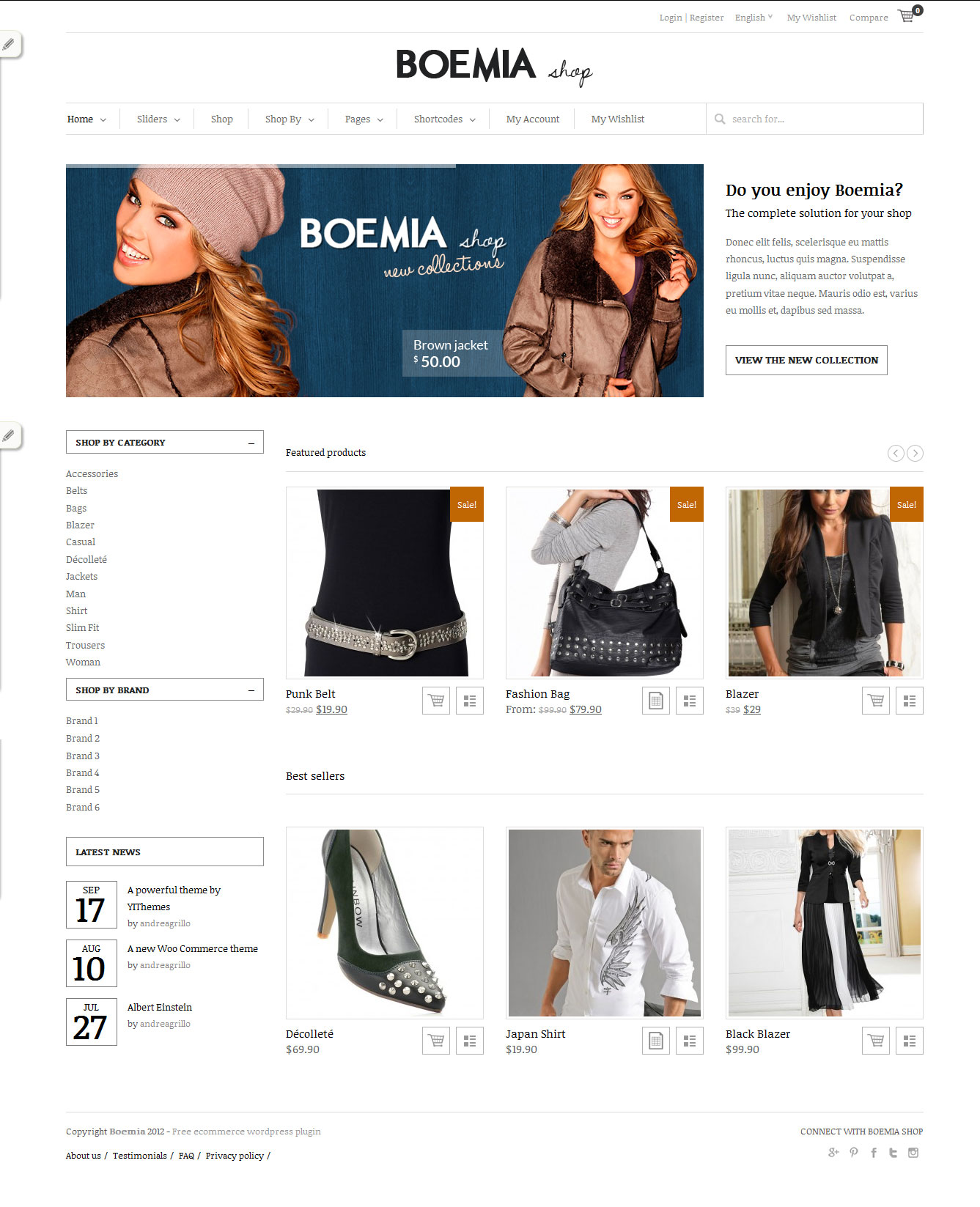 Ecommerce Best wordpress Theme