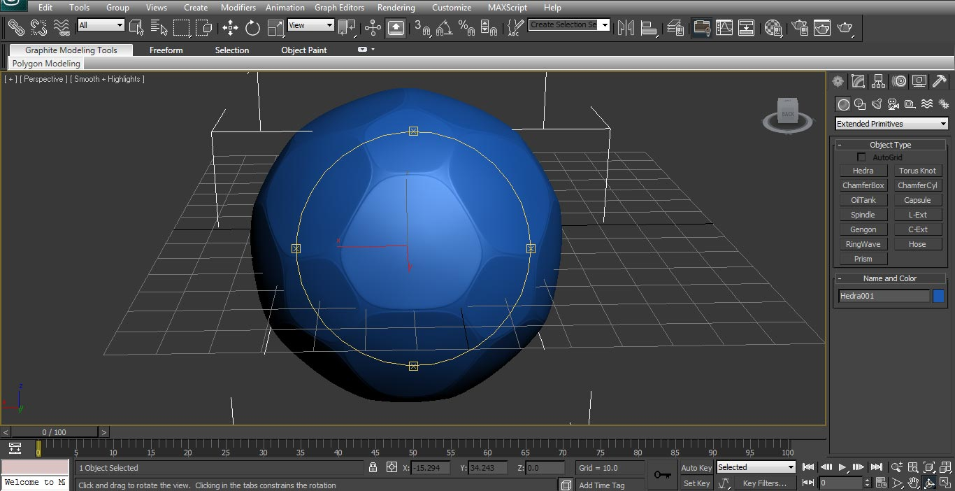 football Modeling in 3ds max
