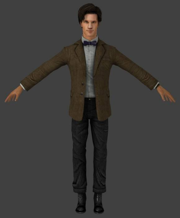 Free doctor rigged character
