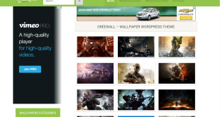 Free Responsive Wordpress Wallpaper Themes