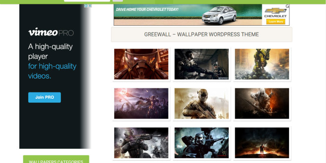 Free Responsive Wordpress Wallpaper Themes | All Design Creative