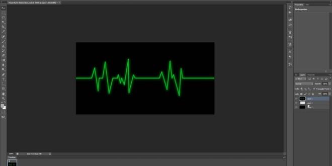 Heartbeat Animation Tutorial in Photoshop Cs6 | All Design