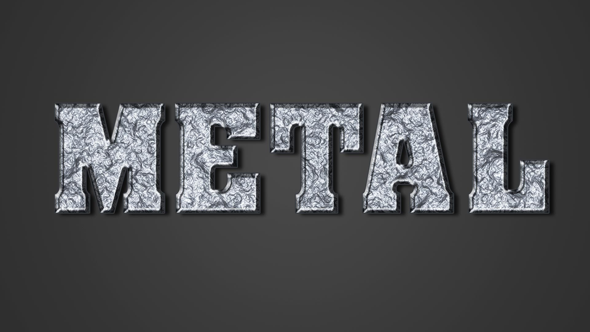 Concrete Text Effect PSD File Free Download