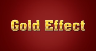 Gold Effect PSD File-Download Free
