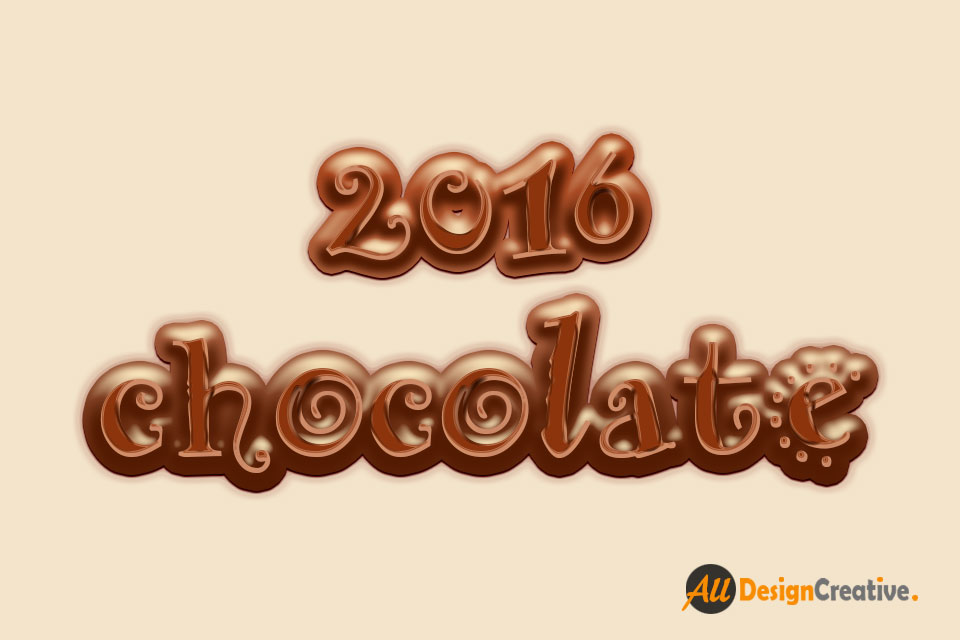Best Chocolate Text Effect Photoshop PSD File