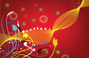 Abstract Background vector Brush Design