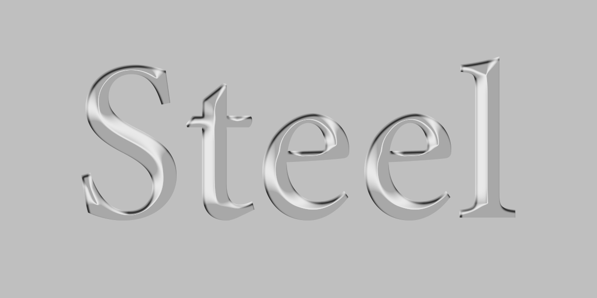 Best Metal Text Effect Photoshop PSD
