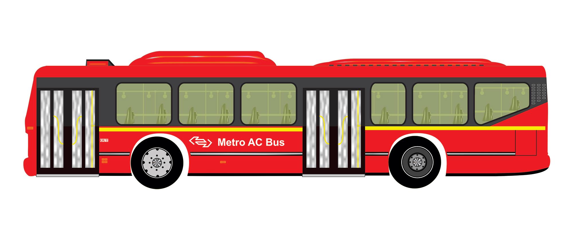 Best Metro Bus Free Vector