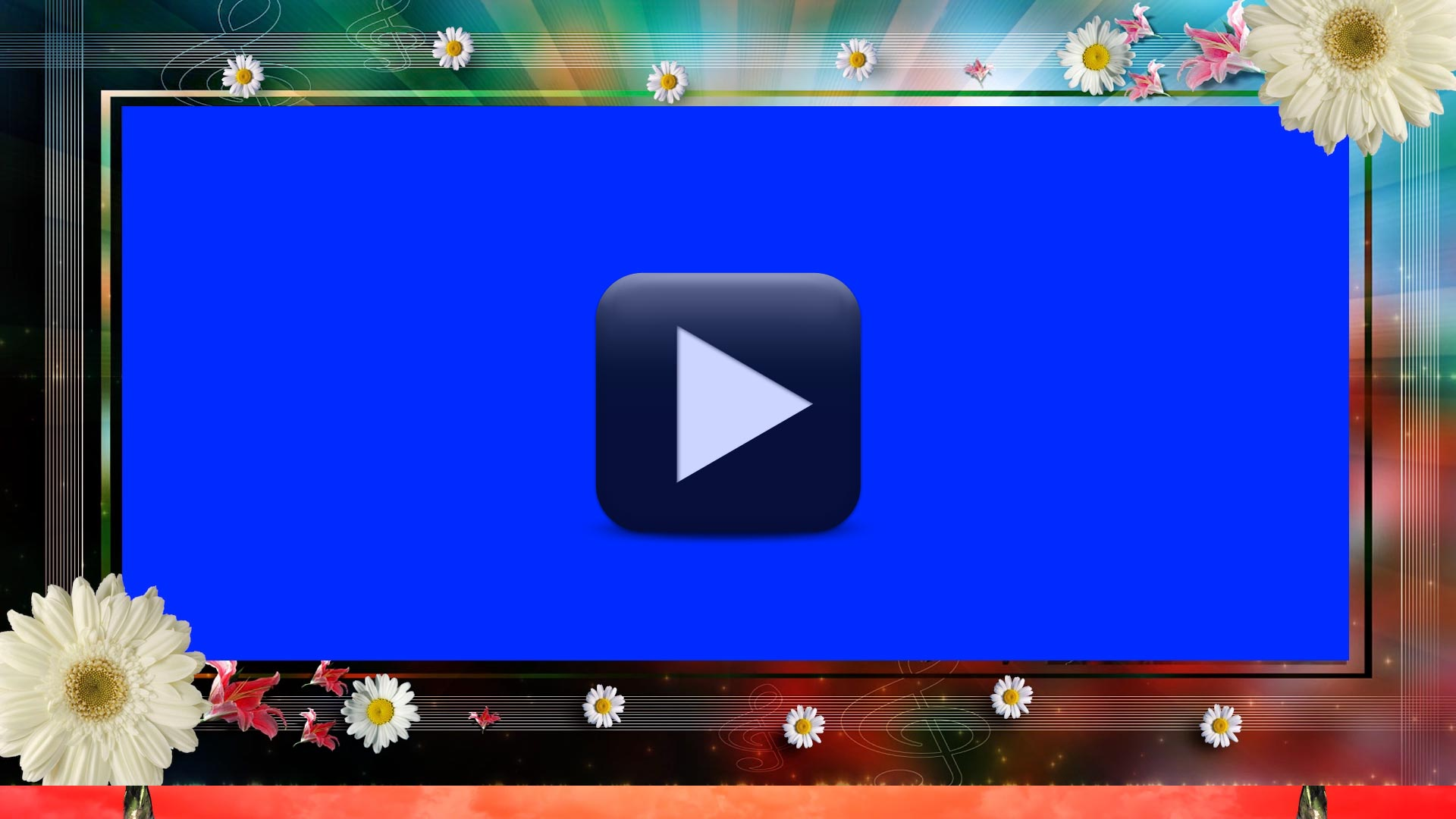 Background Video Effects For Wedding-Cool Frame Animation