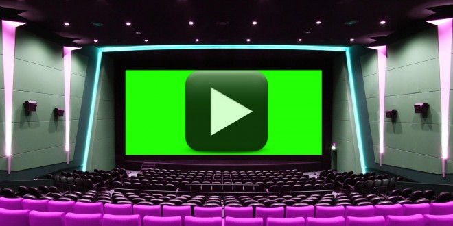 Cinema Hall Green Screen Wedding Video Background All