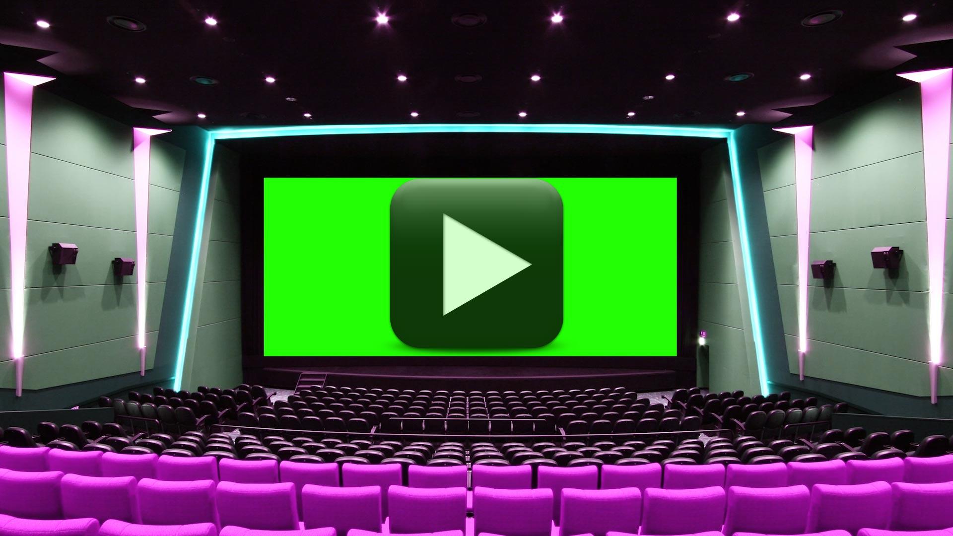 Cinema Hall Green Screen-Wedding Video Background