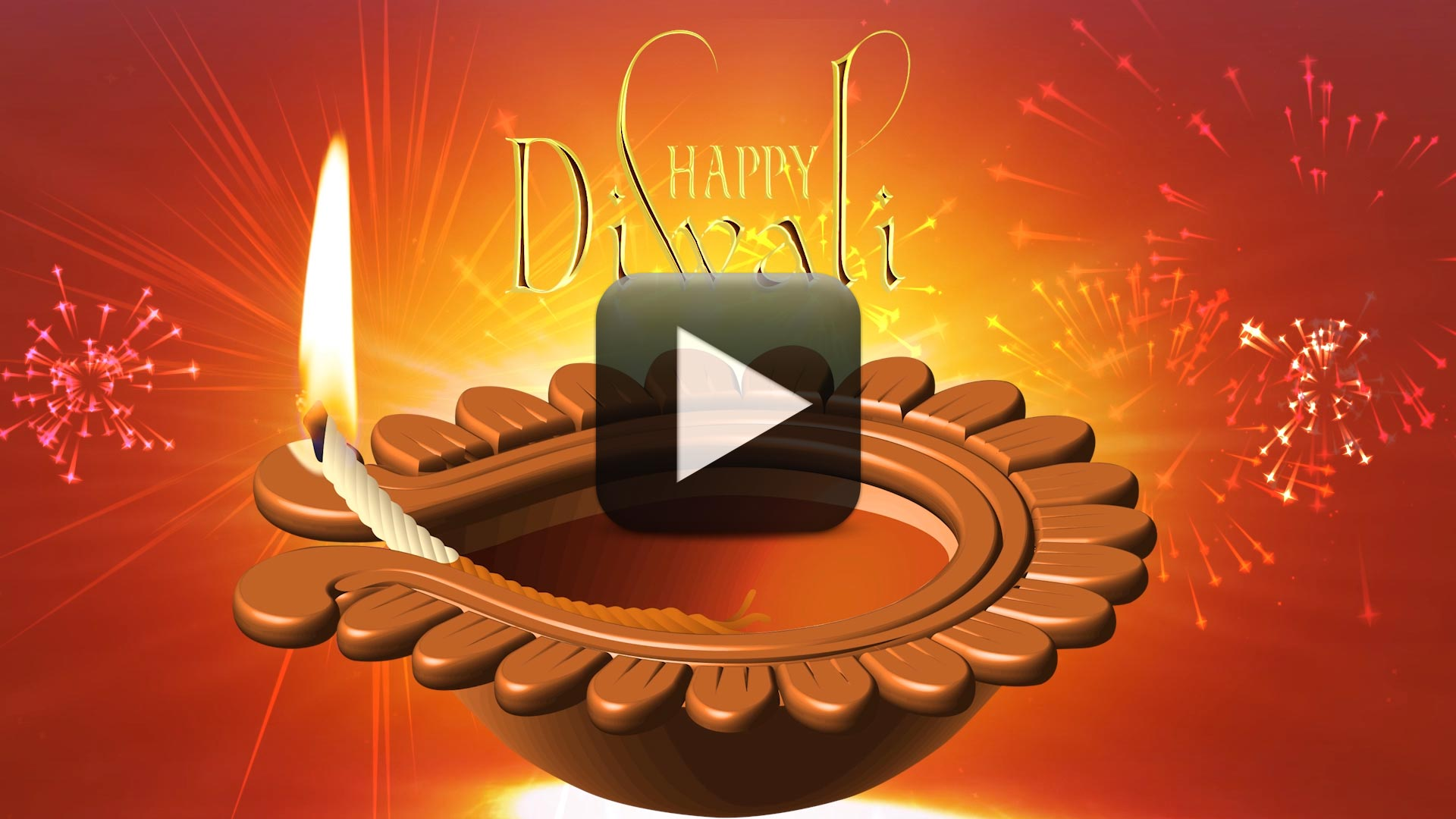Happy diwali motion graphics-animated background video | all.