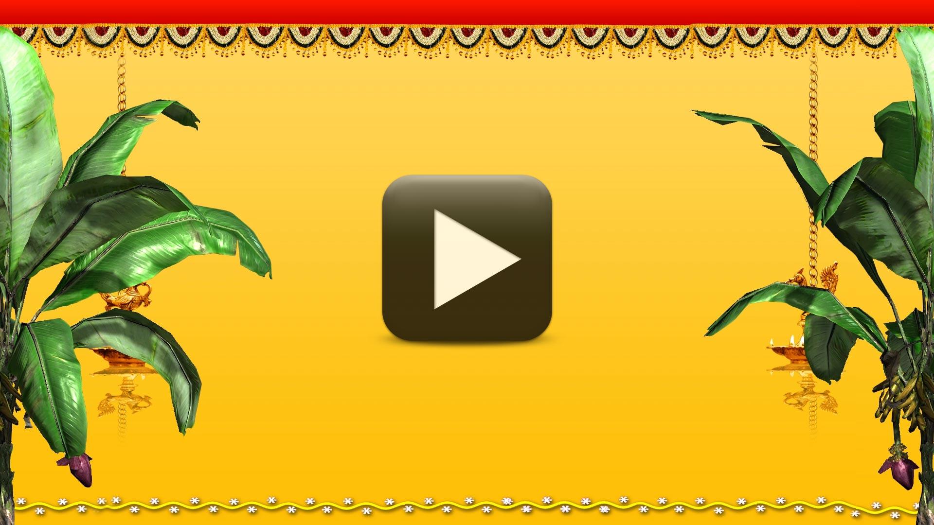 Indian Wedding Background Video Cool Intro Bg All Design Creative