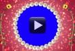 Round Pearls Animaion-Wedding Frame Video