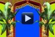 Wedding Frame Blue/Green Screen Video