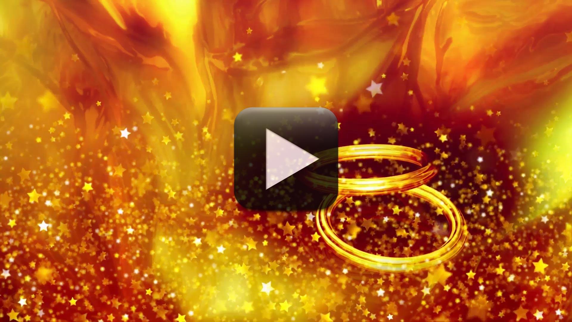 Wedding Rings Video Background