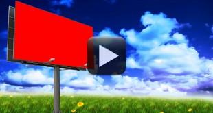 Billboard Advertisement Screen Effect Animation Video